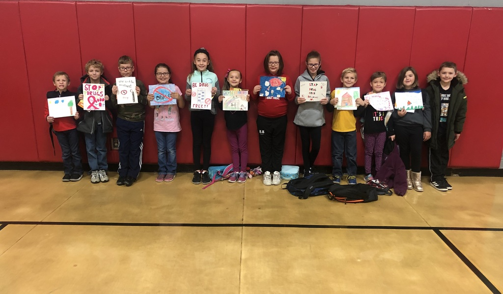 Red Ribbon Week Poster Contest Winners